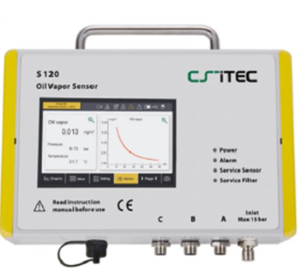 Thiết bị kiểm tra lượng hơi dầu trong khí nén S 120 SUTO ITEC