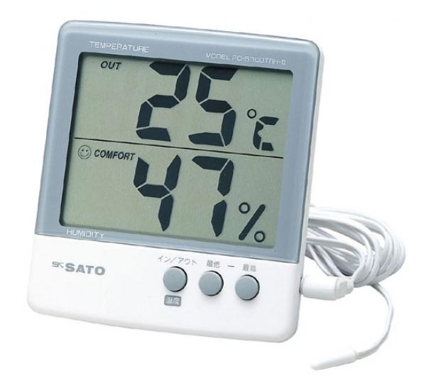 Máy đo nhiệt độ, độ ẩm  PC-5000TRH II hãng SATO