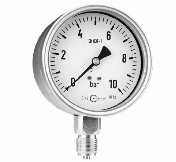 Đồng hồ đo áp suất suchy Mr 20