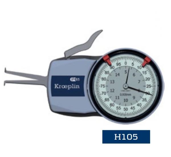 Đồng hồ đo đường kính lỗ H105 Kroeplin