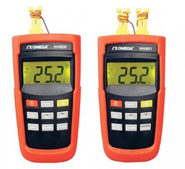 Thiết bị đo nhiệt độ điện tử Omega HH800