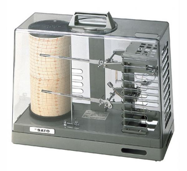 Bộ ghi nhiệt độ độ ẩm Model Sigma II, Model: NSI I-Q