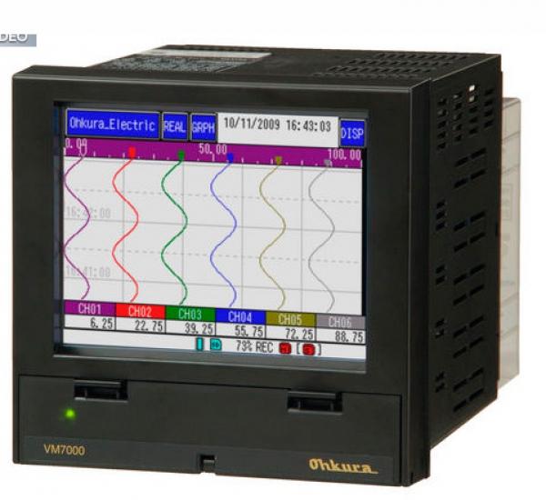 BỘ GHI HIỂN THỊ DỮ LIỆU DATALOGER VM700 OHKURA (vm7000aseries)